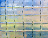 Detail of abstract glass mosaic. Decoration Stock Image