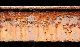 Detail of abstract industrial rusty machine Royalty Free Stock Photo