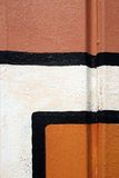 Detail of abstract painting Stock Photography