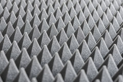Detail of Acoustic Foam in Recording Studio royalty free stock photos