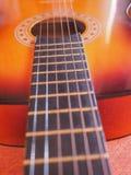 Folk guitar close up Royalty Free Stock Photos