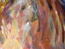 Detail of acrylic painting Royalty Free Stock Photos