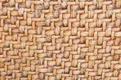 Detail of African artisan wicker texture. Detail of wicker texture suitable as background royalty free stock image