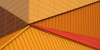 Detail of Agoratheater. The famous Agoratheater in Lelystad, Holland Royalty Free Stock Photo
