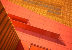 Detail of Agoratheater. The famous Agoratheater in Lelystad, Holland Stock Photography