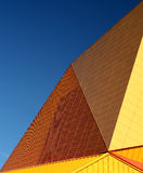 Detail of Agoratheater. The famous Agoratheater in Lelystad, Holland Royalty Free Stock Images