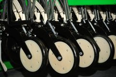 Detail of agriculture machine. Stock Images