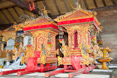 Detail of Agung Besakih temple, Bali, Indonesia Royalty Free Stock Photography
