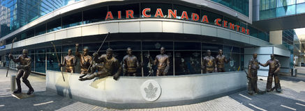 Detail of the Air Canada Center in Toronto Royalty Free Stock Photos