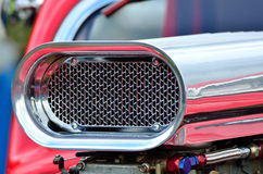 Detail of air intake on car Royalty Free Stock Photography