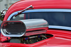 Detail of air intake and windscreen Royalty Free Stock Photo