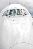 Detail of aircraft nose Royalty Free Stock Photo