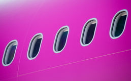 Detail of airplane Stock Image