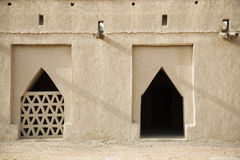Detail Of Al Jahli Fort Royalty Free Stock Photography