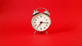 Detail of an alarm clock Royalty Free Stock Images