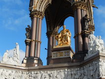 Detail of Albert memorial, London, UK Royalty Free Stock Photography
