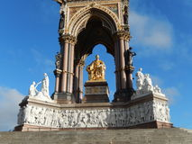 Detail of Albert memorial, London, UK Royalty Free Stock Images