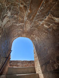 Detail of  Alcazaba fortress,  Alhambra in Granada Royalty Free Stock Photos
