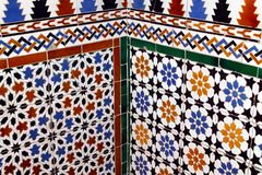 Detail of the Alcazar of Segovia decoration. Spain. Stock Photography