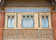 Detail of Alcazar, Seville, Spain Stock Photos