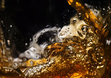 Detail of an alcoholic beverage Royalty Free Stock Images