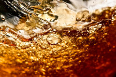 Detail of an alcoholic beverage Stock Images