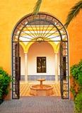 Detail of Alhambra Stock Photo