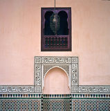 Detail of the Alhambra in Granada Stock Photography