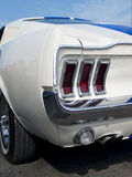Detail of American sportscar Stock Photo