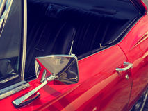 Detail of an American vintage car Royalty Free Stock Image