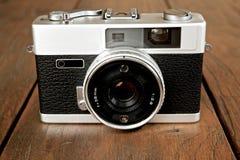 Detail of analog camera Royalty Free Stock Photo