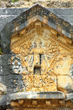 Detail of ancient amphitheater in Aspendos Royalty Free Stock Images