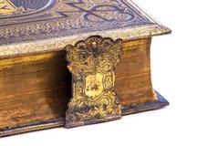 Detail of an ancient book Stock Photos