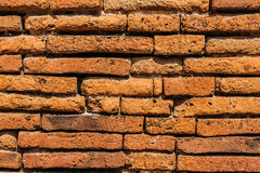 Detail ancient brick wall Royalty Free Stock Photos