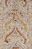 Detail of an ancient colorful mosaic. Royalty Free Stock Photography