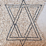 Detail of an ancient colorful mosaic. Stock Photos