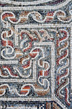 Detail of an ancient colorful mosaic. Royalty Free Stock Images