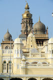 Detail of the ancient Mysore palace Stock Photo