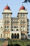 Detail of the ancient Mysore palace Royalty Free Stock Photos