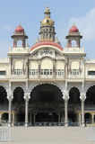 Detail of the ancient Mysore palace Royalty Free Stock Images