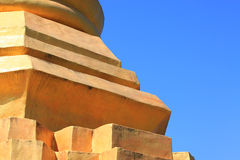 Detail of Ancient Pagoda Stock Photography