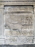 Detail, ancient Roman sculpture and decoration Stock Photo