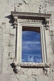 Detail of ancient Roman wall in Zadar, Croatia Royalty Free Stock Photo