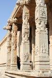 Detail at the ancient ruins of Vijayanagara Empire in Hampi Royalty Free Stock Images