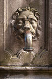 Detail of an ancient village pump Royalty Free Stock Photography