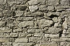 Detail of ancient walls of fortification Stock Photography