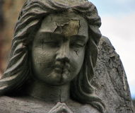 A detail of an angel Stock Photo