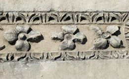 Detail from antique architecture in Myra Stock Image