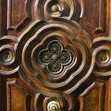 Detail of Antique Door Royalty Free Stock Photo
