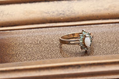 Detail of Antique Ring Royalty Free Stock Photo